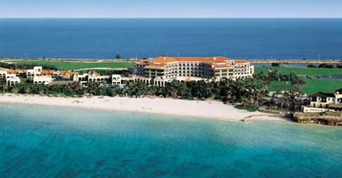 Vista aérea del Hotel Melía Las Américas, Varadero