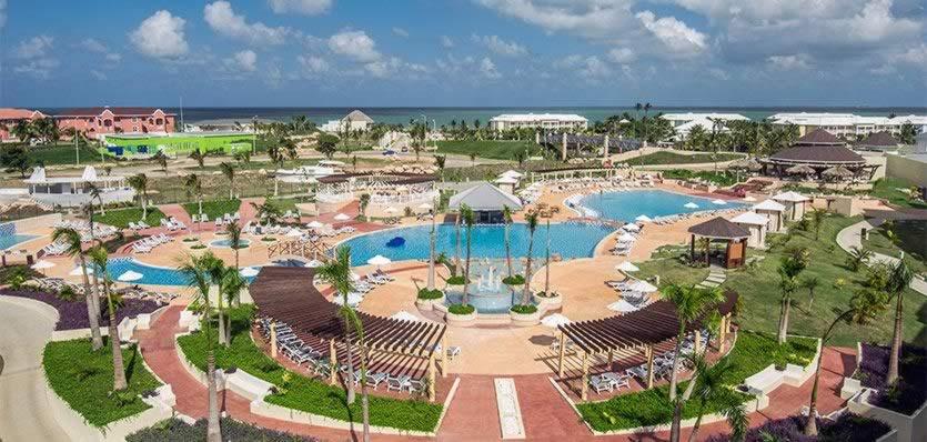Hotel Melia Marina Varadero vista aerea