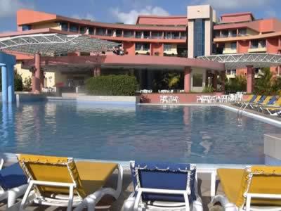 Vista del hotel Mercure Playa de Oro