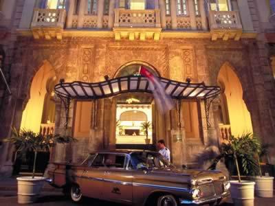 Entrada del Hotel Mercure Sevilla