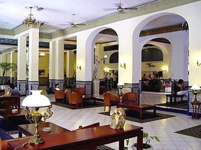Lobby del Hotel Mercure Sevilla