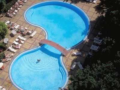 Piscina del Hotel Mercure Sevilla