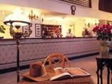 Recepción del Hotel Mercure Sevilla