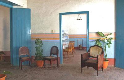 Inside view of Hotel Encanto Mesón del regidor