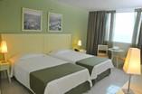 Habitación del Hotel NH Capri