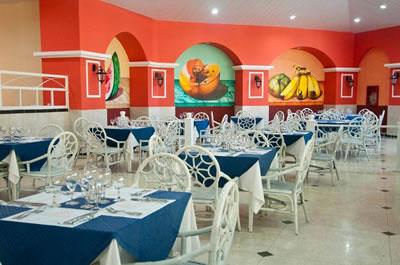 Restaurante del Hotel Naviti Varadero Resort, Cuba