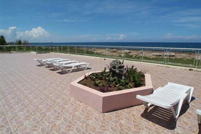 Balcón del hotel Neptuno-Tritón