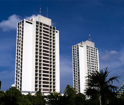 View of  hotel Neptuno-Tritón