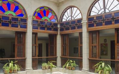 Interior del Hotel Palacio O' Farril, Cuba
