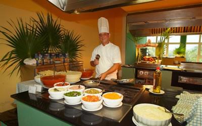 Restaurante del Hotel Olé Playa Blanca, Cayo Largo