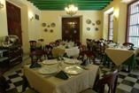 Restaurante del Hotel Palacio O' Farril, Cuba