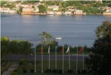 Vista de la bahía desde el hotel Pasacaballo