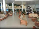 Lobby del hotel Pasacaballo