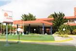 Facade of hotel Pernik