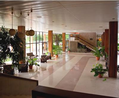 Lobby of hotel Pernik