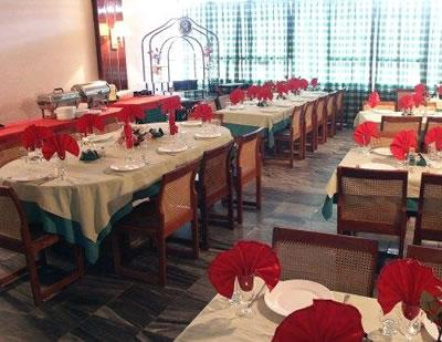 Restaurant of hotel Pinar del Río