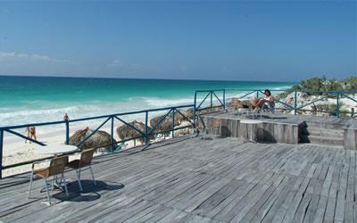 Vista del Hotel Olé Playa Blanca, Cayo Largo