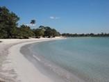 Vista de la playa del Hotel Playa Larga