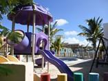 children´s playground with slide