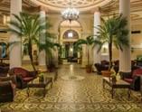 Lobby del hotel Plaza