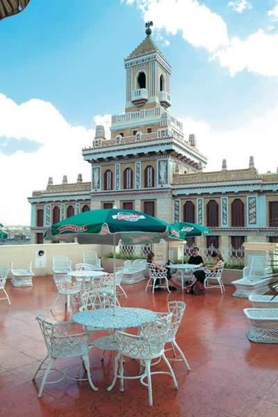 Solarium del hotel Plaza