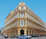 Facade of Hotel Plaza
