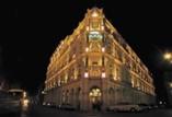 Fachada del Hotel Plaza