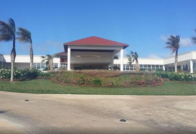 Fachada del hotel Pullman Cayo Coco