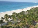 Vista de la playa desde el Hotel Puntarena