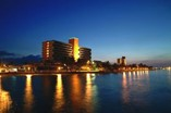 Nigth view of the Hotel Puntarena