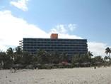 Vista del Hotel Puntarena desde la Playa
