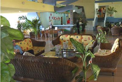 Lobby del  Hotel  Rancho Luna, Cienfuegos,Cuba
