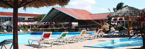 Hotel Rancho Luna pool, Cienfuegos, Cuba