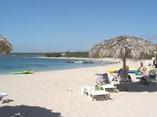 Beach of  hotel  Rancho Luna, Cienfuegos, Cuba