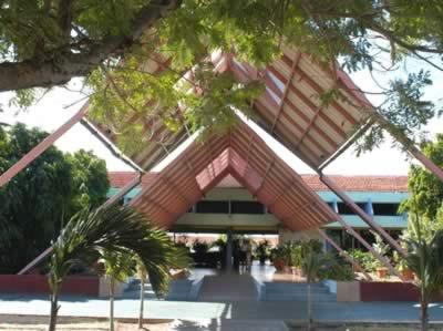Entrance of Hotel  Rancho Luna, Cienfuegos, Cuba