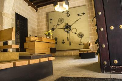 Lobby del Hotel Residencia Habana 612, Cuba