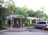 Facade of hotel San Juan
