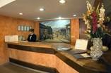 Recepción del hotel San Juan