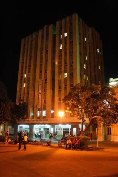Fachada Hotel Santa Clara Libre , Cuba