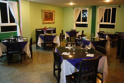 Restaurant del  Hotel Santa Clara Libre , Cuba
