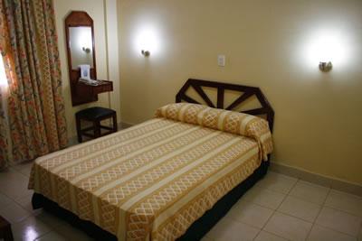Habitación  del  Hotel Santa Clara Libre , Cuba