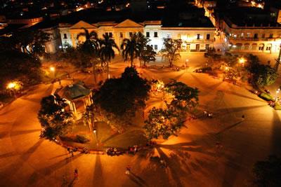 Vista desde el  Hotel Santa Clara Libre , Cuba