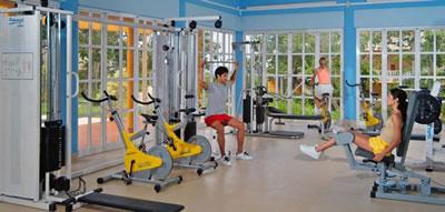 Hotel sol Rio De Luna Y Mares Resort Gym