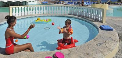 Hotel sol Rio De Luna Y Mares Resort Piscina