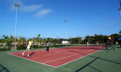 Cancha de tenis, Hotel Starfish Cayo Santa María