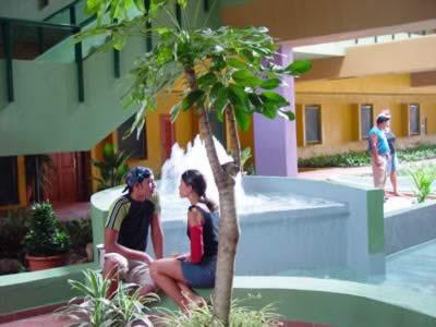 Lobby of Hotel Occidental Montehabana