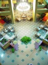 Lobby del Hotel Starfish Montehabana -Apart Hotel