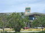 Facade of Hotel Aguas Azules