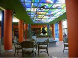 Lobby del hotel Sunbeach