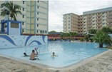 Pool of hotel Sunbeach